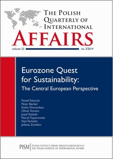 The Polish Quarterly of International Affairs 3/2014 - The Challenge of Eurozone Reforms in a Time of Uncertain Economic Prospects