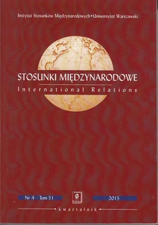 Stosunki Międzynarodowe nr 4(51)/2016 - Subrata K. Mitra: Lone Warrior, Regional Actor or Global Player? Statecraft and Indian Foreign Policy in the 21st Century