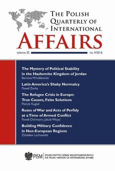 The Polish Quarterly of International Affairs nr 4/2016