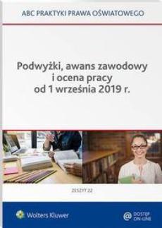 Podwyżki, awans zawodowy i ocena pracy od 1 września 2019 r.