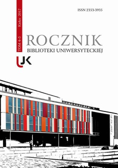 Rocznik Biblioteki Uniwersyteckiej, T. 4-5
