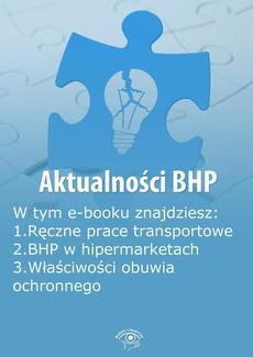 Aktualności BHP, wydanie sierpień 2014 r.