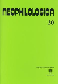 Neophilologica. Vol. 20: Études sémantico-syntaxiques des langues romanes - 06 Parties du corps « sous-estimées » par la langue