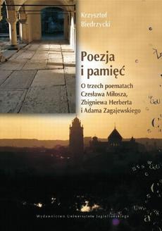 Poezja i pamięć