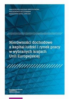 Nierówności dochodowe a kapitał ludzki i rynek pracy w wybranych krajach Unii Europejskiej