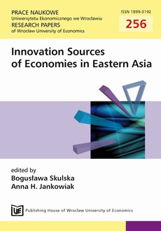 Innovation Sources of Economies in Eastern Asia