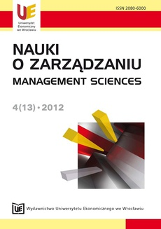 Nauki o Zarządzaniu 4(13)