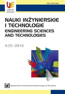 Nauki Inżynierskie i Technologie 4(7)