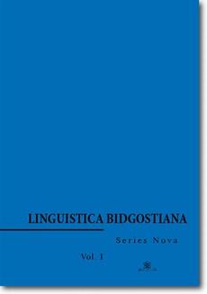 Linguistica Bidgostiana. Series nova. Vol. 1