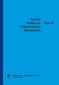 Studia Politicae Universitatis Silesiensis. T. 9 - 01 Rola interwencjonizmu państwowego w powstaniu welfare state w XX wieku