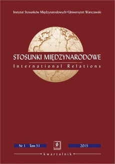 Stosunki Międzynarodowe nr 2(51)/2015 - Paula Marcinkowska: The European Union as a Regional Power and Its Potential to Become an Effective Global Player