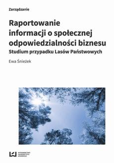 Raportowanie informacji o społecznej odpowiedzialności biznesu