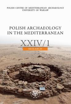 Polish Archaeology in the Mediterranean 24/1
