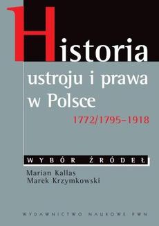 Historia ustroju i prawa w Polsce 1772/1795-1918
