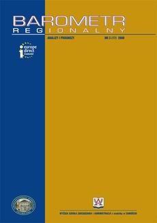 Barometr Regionalny. Analizy i Prognozy. Nr 3(17)