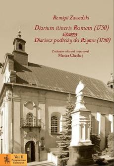 Diarium itineris Romam (1750). Diariusz podróży do Rzymu (1750)