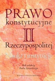 Prawo konstytucyjne II Rzeczypospolitej