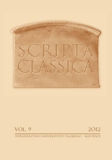 Scripta Classica. Vol. 9 - 01 Imperfect Indicative/Aorist and Present Imperative/Aorist Middle and Passive of Athematic Deponent Verbs in Poetry of Ancient Greece of Archaic and Classical Period