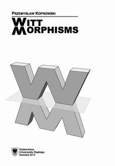 Witt morphisms