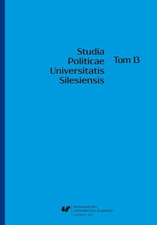 Studia Politicae Universitatis Silesiensis. T. 13 - 09 Recenzje i omówienia