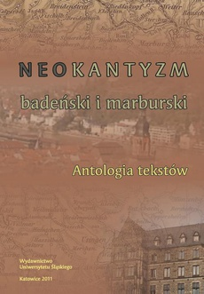 Neokantyzm badeński i marburski - 05 Hermann Cohen
