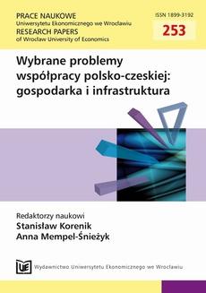 Wybrane problemy współpracy polsko-czeskiej: gospodarka i infrastruktura