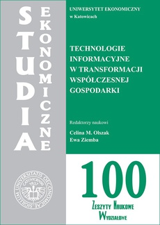Technologie informacyjne w transformacji współczesnej gospodarki. SE 100