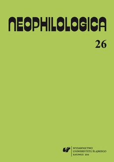 """""""Neophilologica"""" 2014. Vol. 26: Le concept d'événement et autres études - 15 L'événement fortuit a travers le prisme du nom général"""