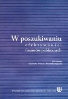 W poszukiwaniu efektywności finansów publicznych