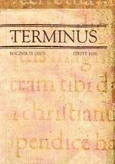 Terminus rocznik XII (2010), zeszyt 1 (22)