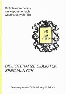 Bibliotekarze bibliotek specjalnych