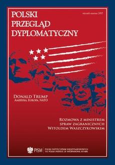 Polski Przegląd Dyplomatyczny 2/2016 - Co dalej po warszawskim szczycie NATO?
