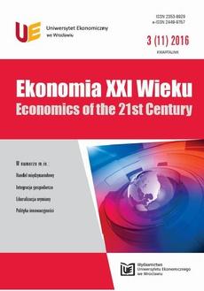Ekonomia XXI Wieku 3(11)