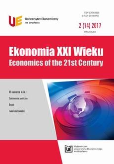 Ekonomia XXI Wieku 2(14)