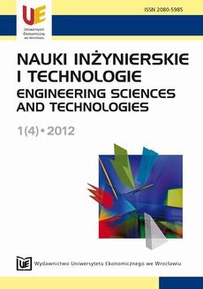 Nauki Inżynierskie i Technologie 1(4)