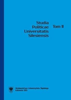 Studia Politicae Universitatis Silesiensis. T. 11 - 08 Recenzje