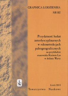 Acta Geographica Lodziensia t. 102/2014