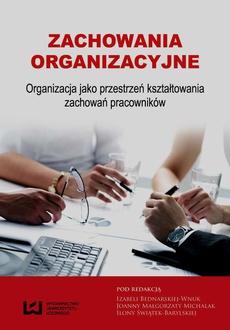 855c3806ba5a55 Zachowania organizacyjne - Izabela Bednarska-Wnuk, Joanna Małgorzata ...