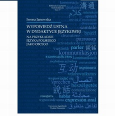 Wypowiedź ustna w dydaktyce językowej na przykładzie języka obcego
