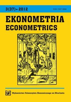 Ekonometria 3(37)