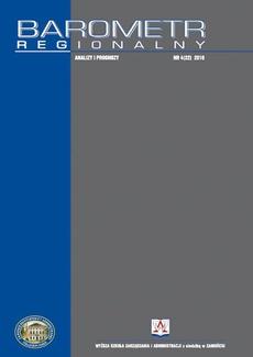 Barometr Regionalny. Analizy i Prognozy. Nr 4(22)
