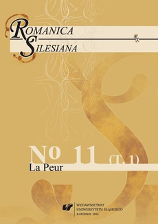 """""""Romanica Silesiana"""" 2016, No 11. T. 1: La Peur - 11 Harry Potter et l'expérience d'effroi : L'effet des Détraqueurs"""