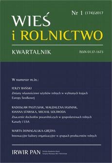 Wieś i Rolnictwo nr 1(174)/2017