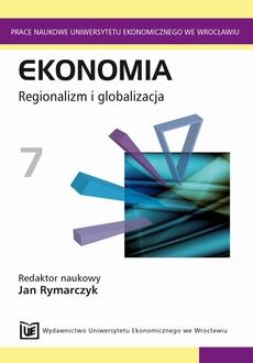 Ekonomia 7. Regionalizm i globalizacja