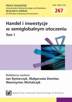 Handel i inwestycje w semiglobalnym otoczeniu, t. 1