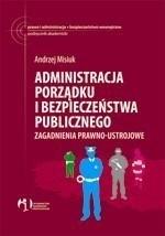 Administracja porządku i bezpieczeństwa publicznego