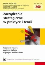 Zarządzanie strategiczne w praktyce i teorii