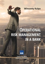 Operational risk management in a bank
