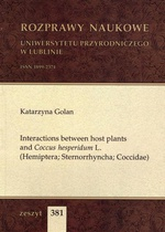 Interactions between host plants and Coccus hesperidum L. (Hemiptera; Sternorrhyncha; Coccidae)