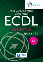 ECDL. Web editing. Moduł S6. Syllabus v. 2.0